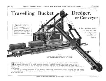 TRAVELLING BUCKET DREDGER