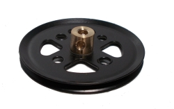 Pulley 50mm dia (black)